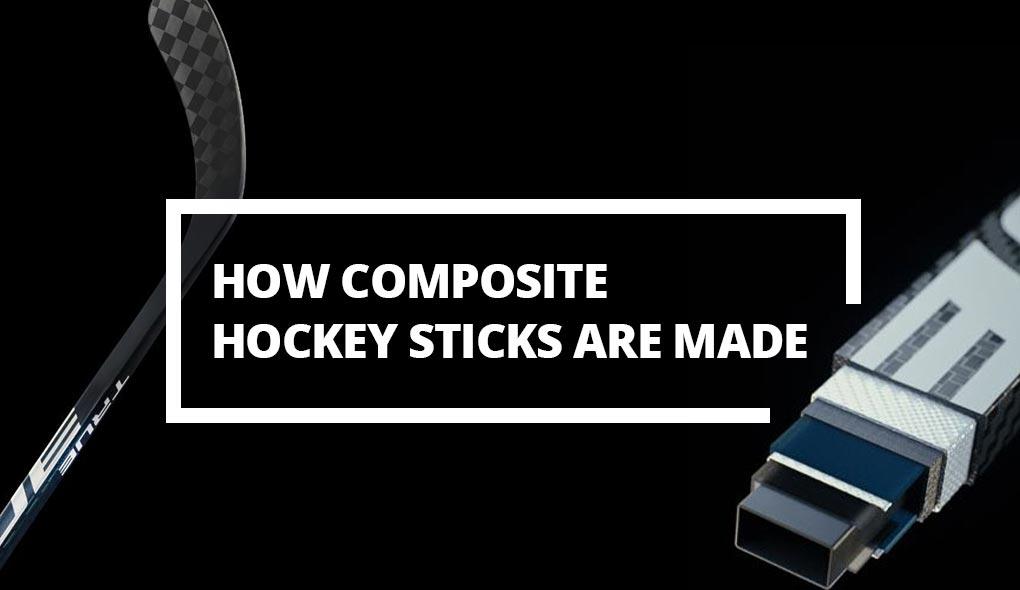 How composite hockey sticks are made