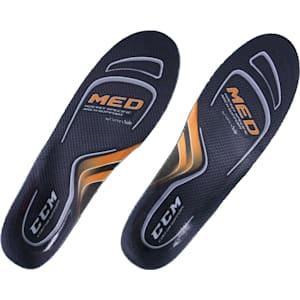 CCM Custom Support Performance Skate Insoles - Medium Arch