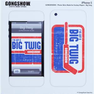 Gongshow Big Twig iPhone 5 Skin