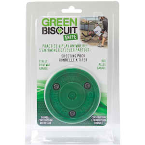 Green Biscuit Packaged Puck - Snipe