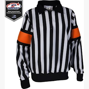Force Pro Referee Jersey w/ Orange Armbands - Womens