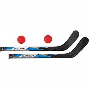 Bauer Two Mini Sticks w/ Two Balls