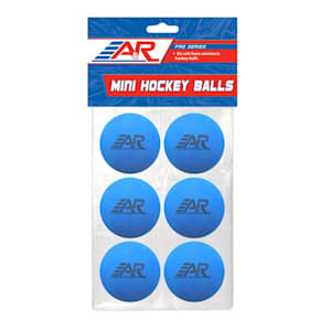 A&R Mini Hockey Balls - 6 Pack