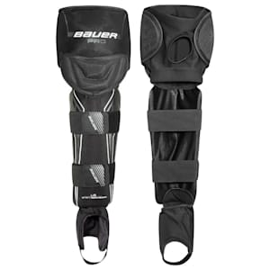 Bauer Pro Ball Hockey Shin Guards - Junior