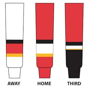 NHL Team Hockey Socks - Calgary Flames - Junior