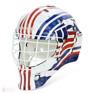 Bauer NME USA/Canada Street Hockey Goalie Mask - Youth