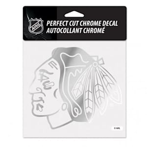 Wincraft Perfect Cut Hockey Chrome Decal - Chicago Blackhawks