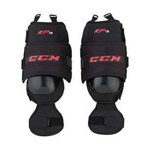 CCM KP1.9 Hockey Goalie Knee Guards - Intermediate