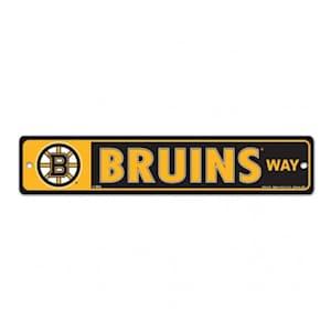 Wincraft Boston Bruins Street Sign