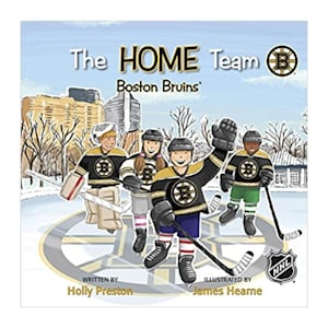 MasterPieces Home Team Book - Boston Bruins