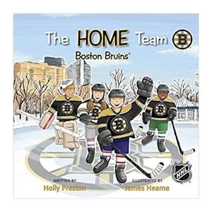 MasterPieces Home Team Book - Boston Bruins