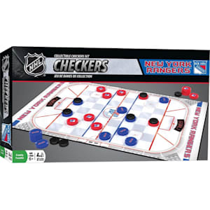 MasterPieces NHL Checkers - NY Rangers