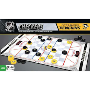 MasterPieces NHL Checkers - Penguins