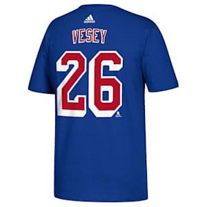 Adidas New York Rangers Vesey Tee - Mens