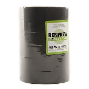 Renfrew Black Cloth Hockey Tape 6 Pack
