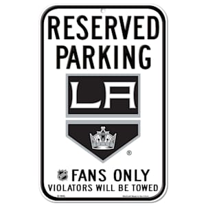 Wincraft NHL Reserved Parking Sign - Los Angeles Kings