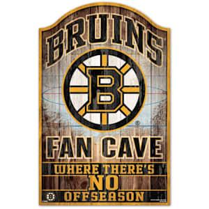 "Wincraft NHL Wood Sign - 11"" x 17"" - Boston Bruins"