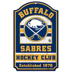 "Wincraft NHL Wood Sign - 11""  x 17"" - Buffalo Sabres"