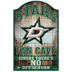 "Wincraft NHL Wood Sign - 11"" x 17"" - Dallas Stars"