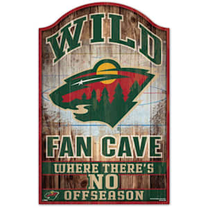 "Wincraft NHL Wood Sign - 11"" x 17"" - Minnesota Wild"