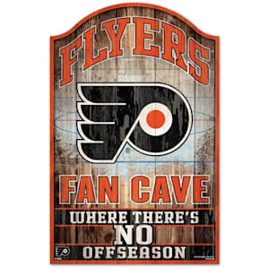 "Wincraft NHL Wood Sign - 11"" x 17"" - Philadelphia Flyers"