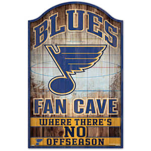 "Wincraft NHL Wood Sign - 11""  x 17"" - St. Louis Blues"