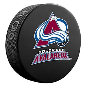 InGlasco NHL Basic Logo Puck - Colorado Avalanche