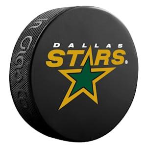InGlasco NHL Basic Logo Puck - Dallas Stars