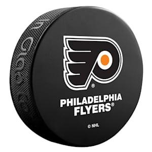InGlasco NHL Basic Logo Puck - Philadelphia Flyers