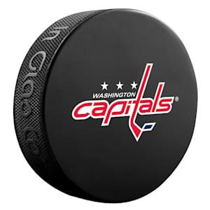InGlasco NHL Basic Logo Puck - Washington Capitals