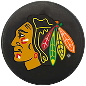 InGlasco NHL Mini Puck Charms - Chicago Blackhawks