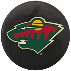 InGlasco NHL Mini Puck Charms - Minnesota Wild