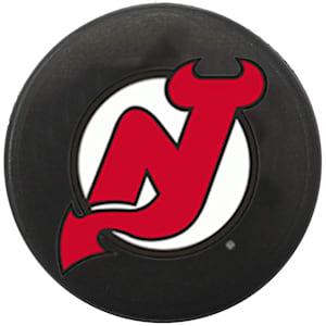 InGlasco NHL Mini Puck Charms - New Jersey Devils