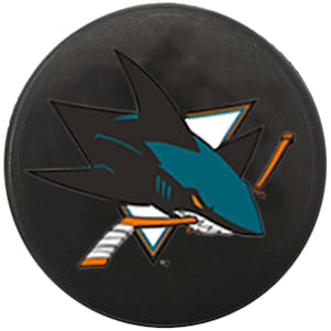 InGlasco NHL Mini Puck Charms - San Jose Sharks