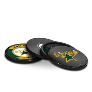 InGlasco Puck Coasters Pack - Dallas Stars