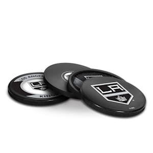 InGlasco Puck Coasters Pack - Los Angeles Kings