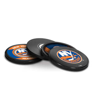 InGlasco Puck Coasters Pack - New York Islanders
