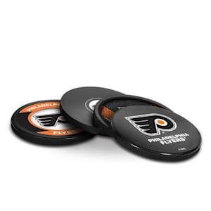 InGlasco Puck Coasters Pack - Philadelphia Flyers
