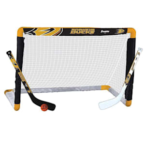 Franklin NHL Team Mini Hockey Goal Set - Anaheim Ducks