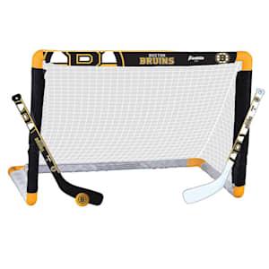 Franklin NHL Team Mini Hockey Goal Set - Boston Bruins