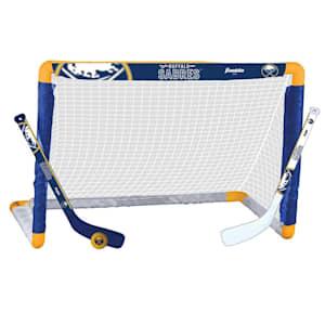 Franklin NHL Team Mini Hockey Goal Set - Buffalo Sabres