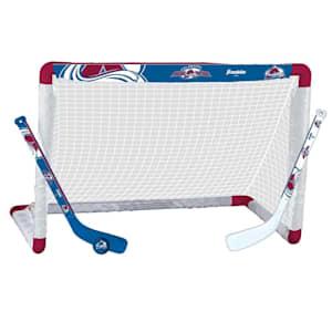 Franklin NHL Team Mini Hockey Goal Set - Colorado Avalanche