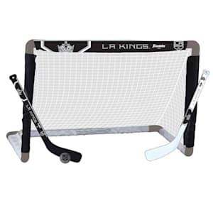Franklin NHL Team Mini Hockey Goal Set - Los Angeles Kings