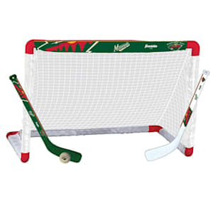 Franklin NHL Team Mini Hockey Goal Set - Minnesota Wild