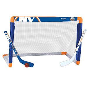 Franklin NHL Team Mini Hockey Goal Set - New York Islanders