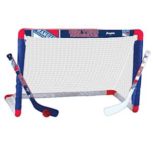 Franklin NHL Team Mini Hockey Goal Set - New York Rangers