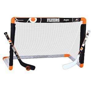 Franklin NHL Team Mini Hockey Goal Set - Philadelphia Flyers