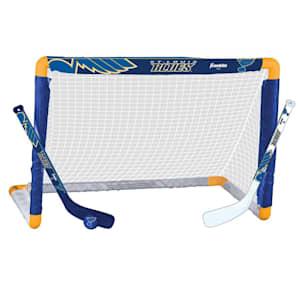Franklin NHL Team Mini Hockey Goal Set - St. Louis Blues