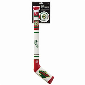 Franklin NHL Team Soft Sport Mini Hockey Set - Minnesota Wild