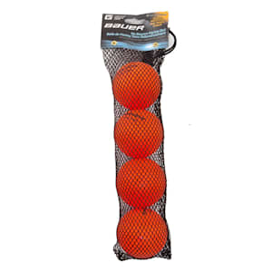 Bauer HydroG Liquid-Filled No Bounce Street Hockey Balls